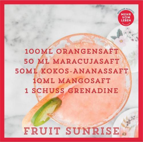 Fruit Sunrise