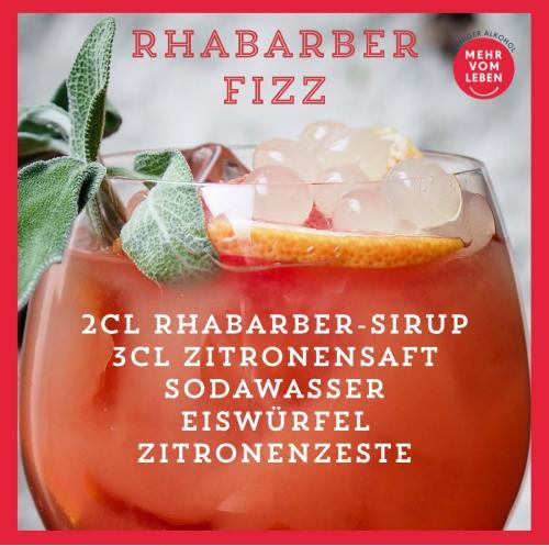 Rhabarber Fizz