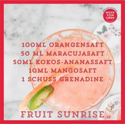 Fruit Sunrise